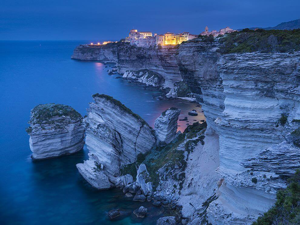 Limestone Cliffs. Photograph by Sam Abell