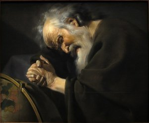 Heraclito - Pintura de Utrecht Moreelse